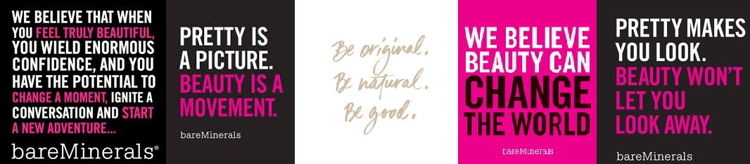 Be Original, Be Natural, Be Good - bareMinerals - Silvana Spa